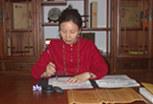 王莉平师傅在天道缘写手稿